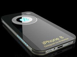 iPhone8概念圖曝光:屏幕將覆蓋機身整個正面