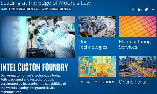 ARM攜手英特爾:共推10nm FinFET定制芯片發展