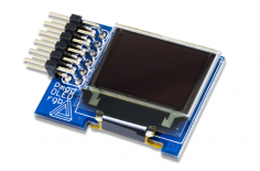 PmodOLEDrgb:96x64,16位色彩分辨率RGB OLED显示屏
