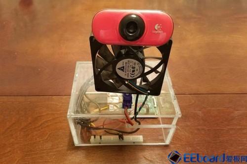 自动送风,人脸识别!树莓派电脑驱动的智能风扇