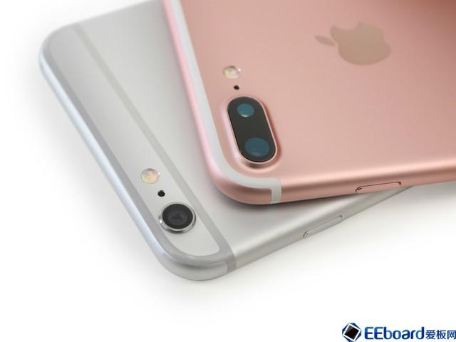 双摄像头是苹果iphone7