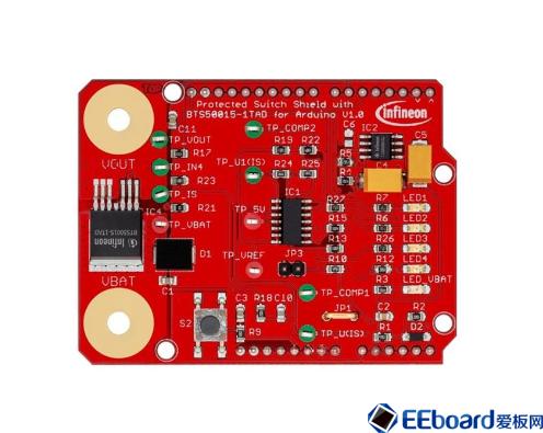 SHIELDBTS50015-1TAD 12V 保护开关扩展板