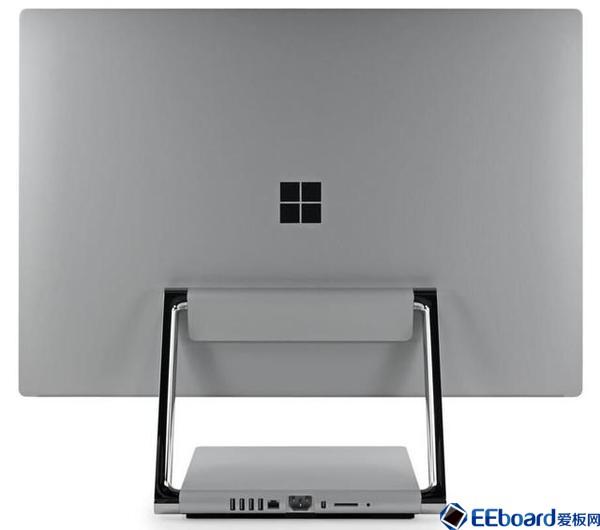 微软Surface Studio一体机拆解:竟隐藏意想不到的芯片