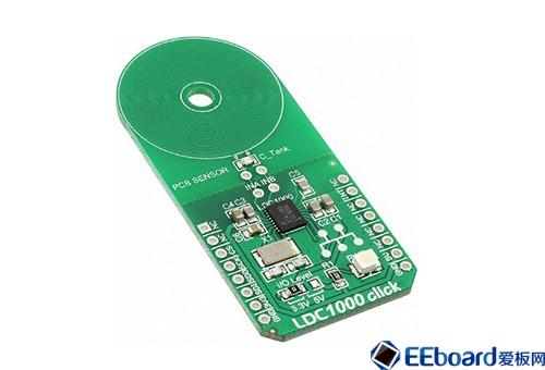 LDC1000 click 传感器开发板