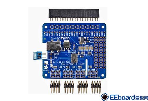 Raspberry Pi电源管理伺服驱动器