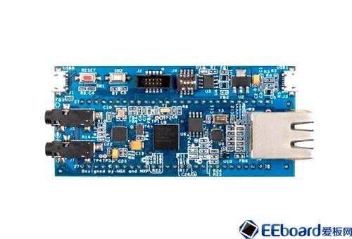 LPC4330  双核嵌入式微控制器开发板