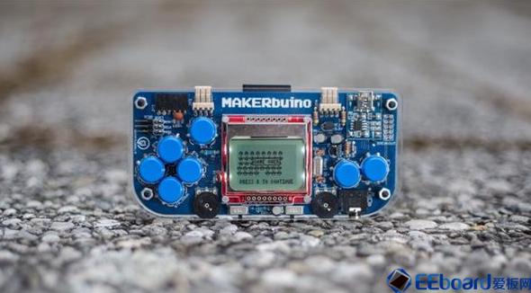 3D打印游戲機MAKERbuino,眾籌價35美金