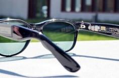 太阳能眼镜