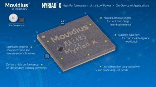 Movidius Myriad X VPU002