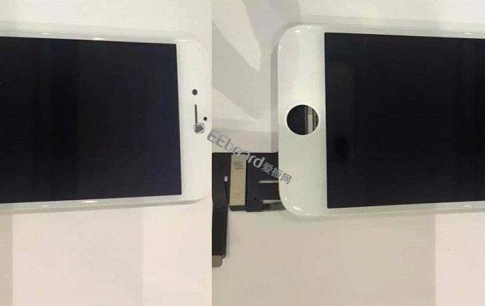 據說揚聲器還不錯:疑似iPhone 7s屏幕總成諜照曝光