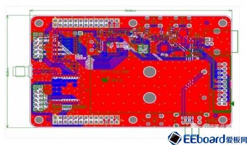 ZM470SX-M评估板PCB示例