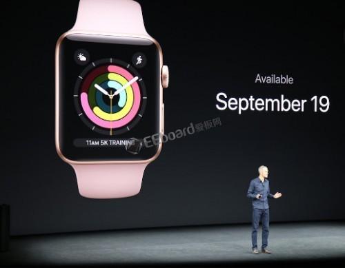 全新的 Apple Watch