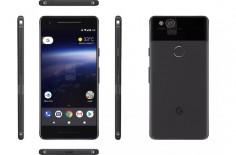 Google Pixel 2 渲染图