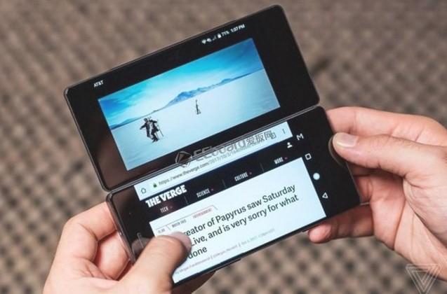 全面屏OUT!華為OPPO三星研發折疊手機:雙屏完美