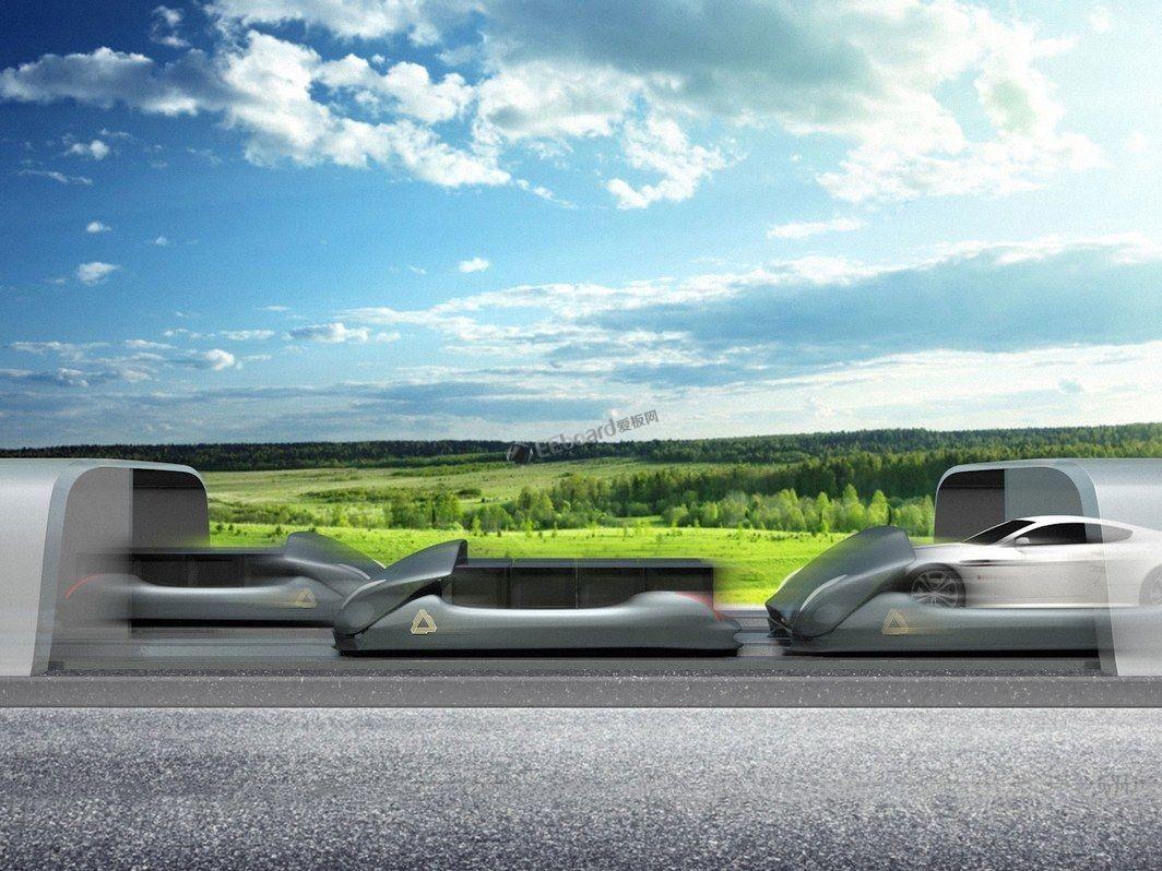 Arrivo:Hyperloop One 和马斯克 Boring 公司的一个『孩子』