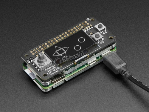 ADAFRUIT 128X64 OLED BONNET FOR RASPBERRY PI