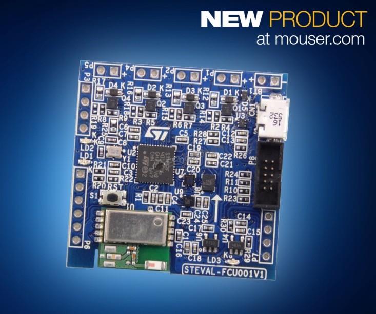 STMicroelectronics FCU评估板在贸泽开售  让无人机飞行控制设计轻松上手