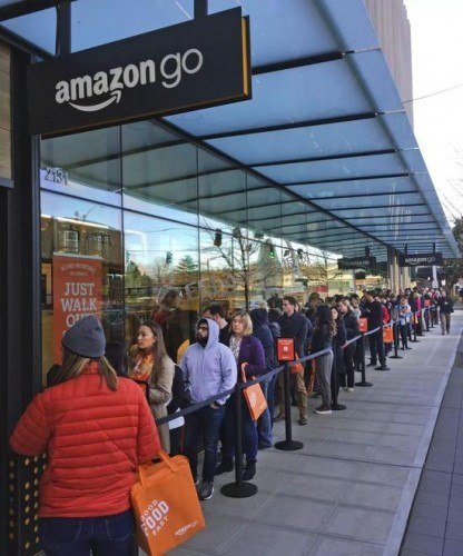 amazon-go-queue