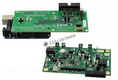 EXAR 电源管理单元 (PMU) 演示板
