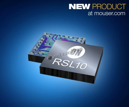ON Semi RSL10 SoC為可穿戴提供無線連接