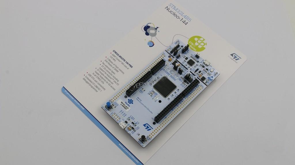 满足你所有向往的圆屏智能手表解决方案——ST NUCLEO-L4R5ZI评测