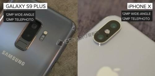iPhone X、Galaxy S9