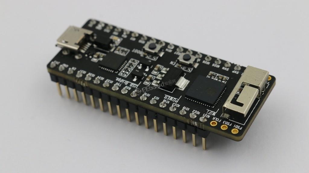 ESP32-PICO-KIT V4评测——让人趋之如骛的WiFi/蓝牙解决方案?