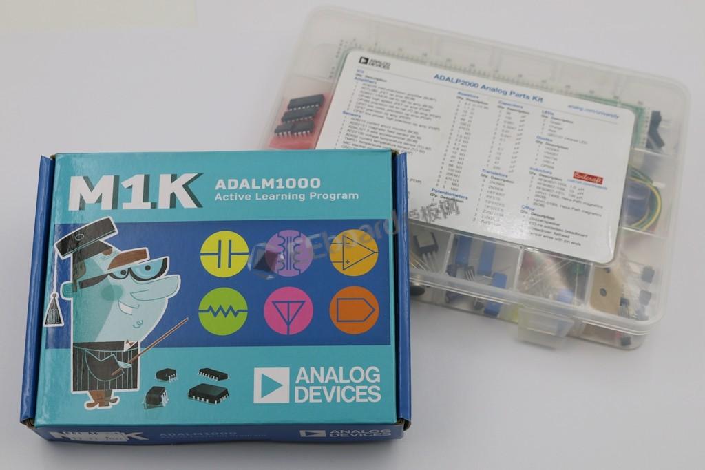 高性价比的便携式测试测量神器——ADI ADALM1000主动学习模块评测