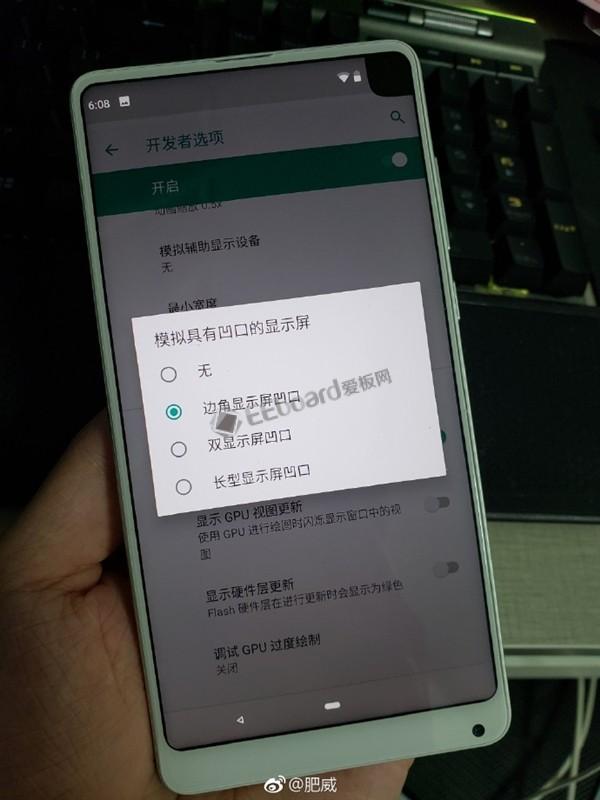 Android P的刘海演示:普通刘海还有斜刘海,简?#27604;?#20154;没法直视