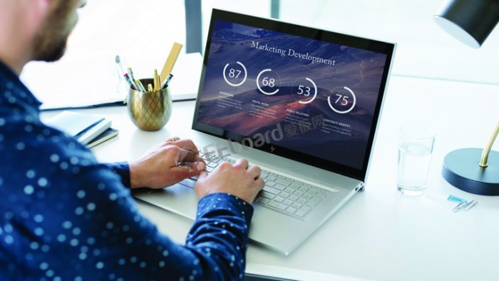 惠普宣布推一系列高端Envy筆記本電腦