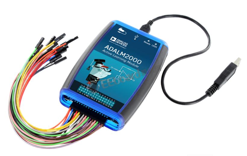 9合1的便携式测试测量仪器——ADI ADALM2000高级主动学习模块评测