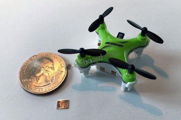 MIT研发新型芯片:可为硬币大小迷你无人机提供长效续航
