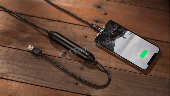Nomad推第二代Battery Cable:既是iPhone充电线又是移动电源