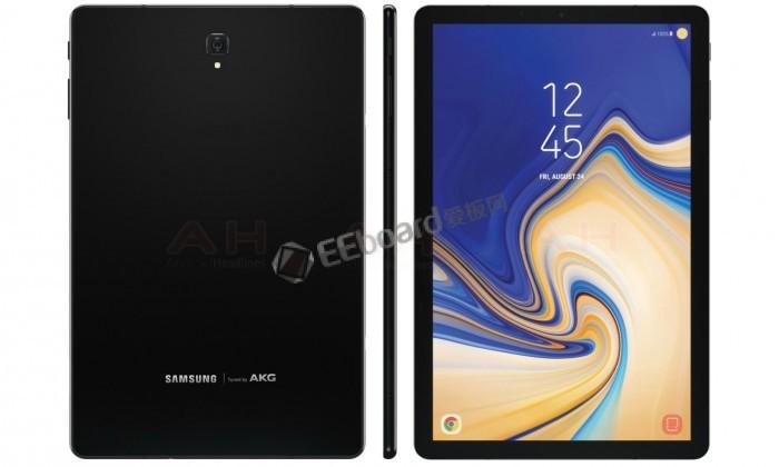 三星Galaxy Tab S4配置曝光:USB 3.1接口+蓝牙5.0