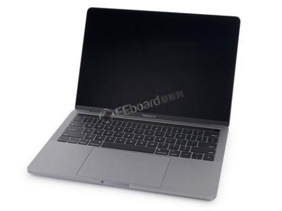 2018款13英寸带触控栏的MacBook Pro拆解对比与前代的不同之处