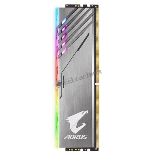 技嘉Aorus内存正式发布:这个首创独立RGB发光条看来很骚气!