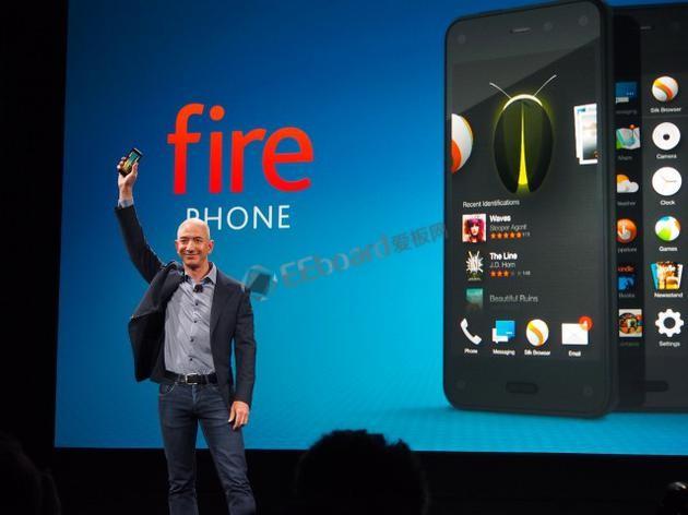 亚马逊否认新款Fire Phone手机传言:只是开发个App界面