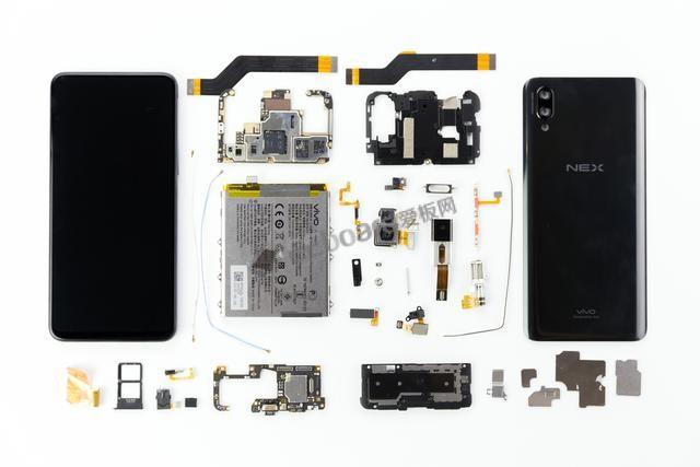 """彻底拆解""""最复杂""""的手机——vivo NEX"""