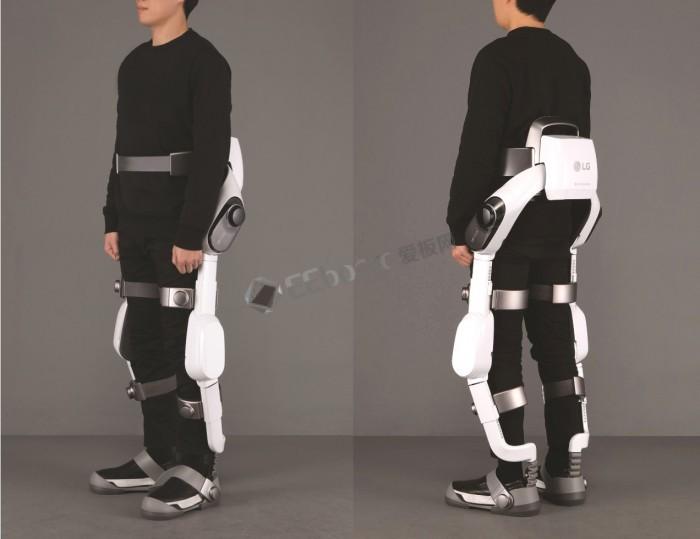LG可穿戴机器人颠覆你认知——LCLOi SuitBot