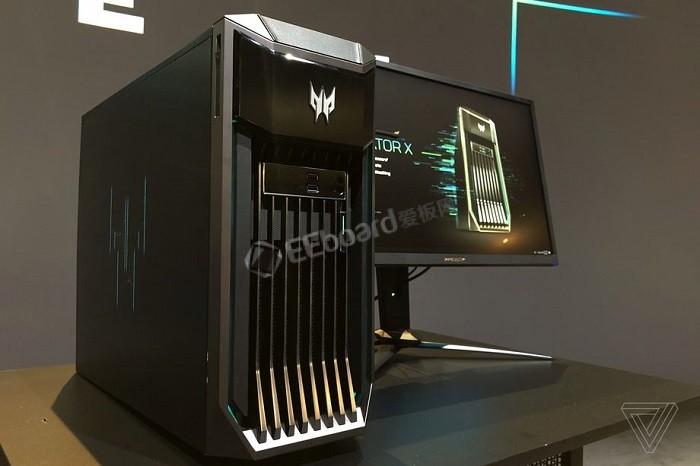 宏碁 Predator X 台式游戏主机,引入英特尔至强双芯