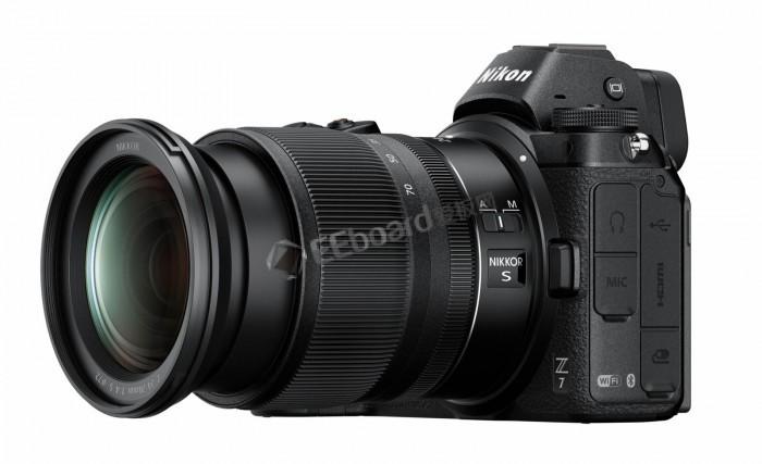 尼康微单Z6/Z7面世:引入Z镜头卡口设计
