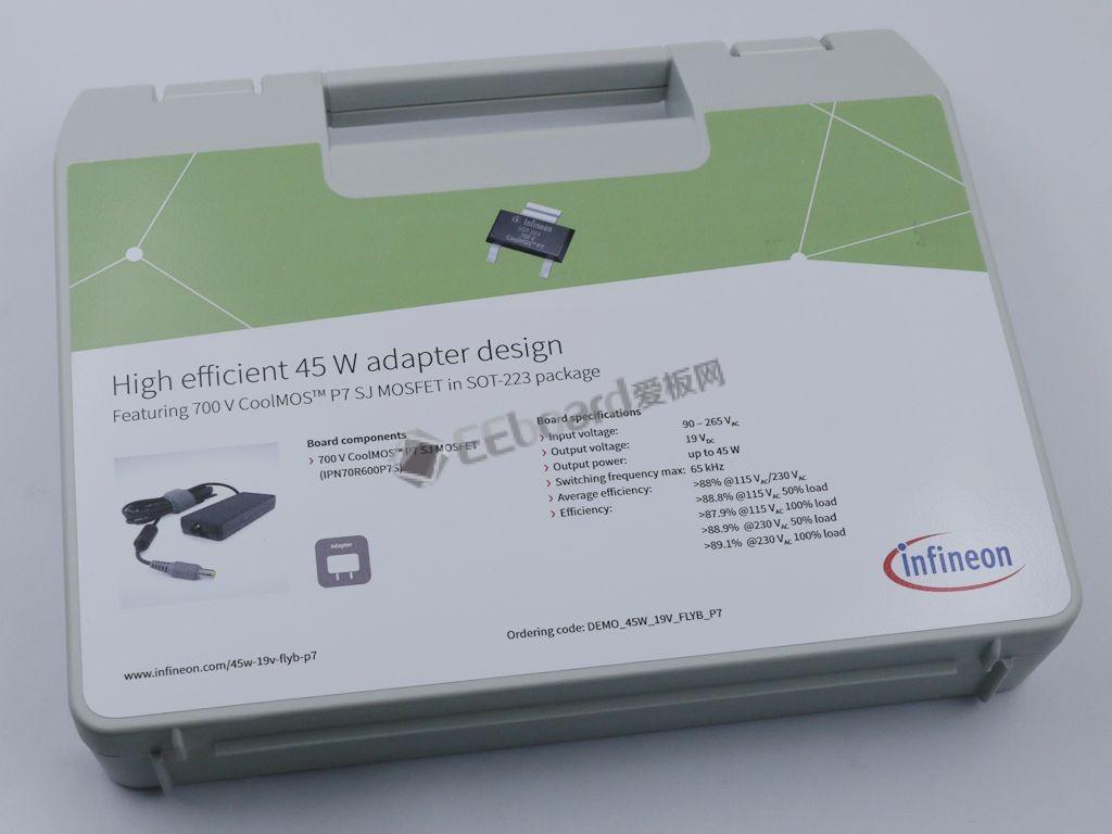 小封裝、大能量,英飛凌SOT-223 封裝CoolMOS用于45W高效率高性價比電源適配器