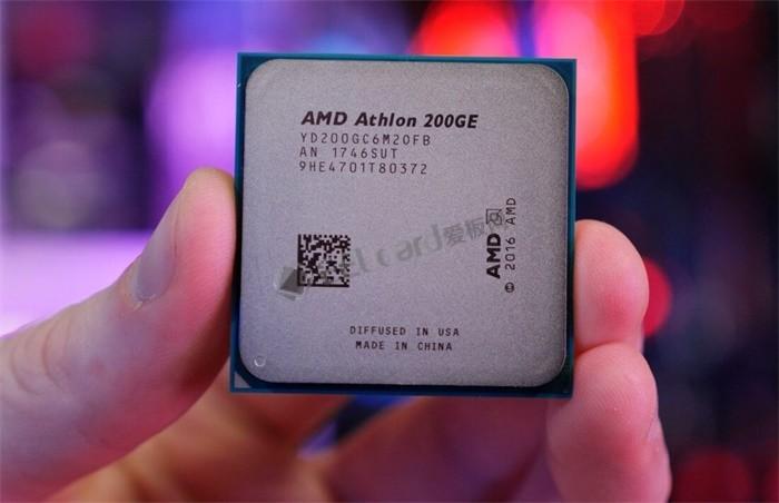 奔腾G4560对手来袭:AMD Athlon 200GE处理器性能测试