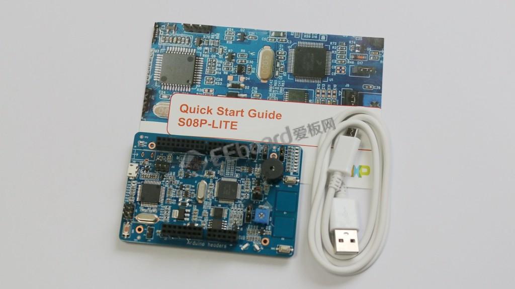 帶TSI接口的8位5V EEPROM MCU——高性價比NXP S08P-Lite開發板評測