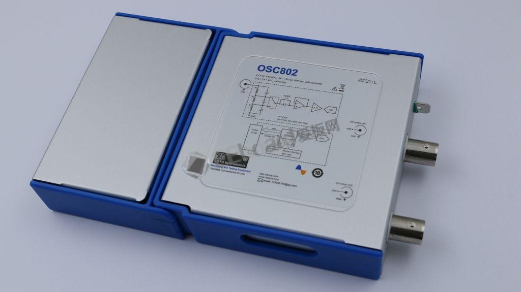 虛擬示波器還有明天嗎?——OSC802實測+拆機
