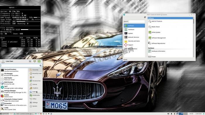 [圖]面向樹莓派3 B+的EXTON OpSuS Rpi鏡像發布:默認搭載Xfce桌面