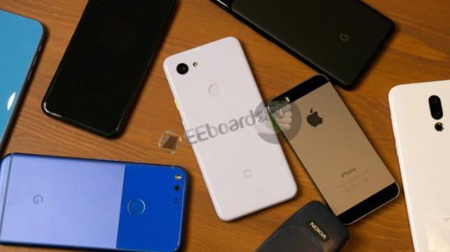 Pixel 3 Lite曝光了更多照片,貌似比 iPhone X/XS 更大