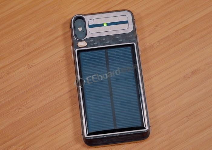 [视频]Tesla iPhone X:支持太阳能充电的Caviar定制版iPhone X上手,售价4400美元