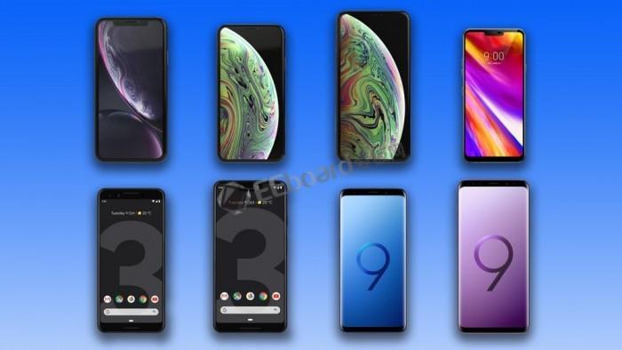对比2018年八款热门旗舰手机:你会选择哪款旗舰陪伴你左右?