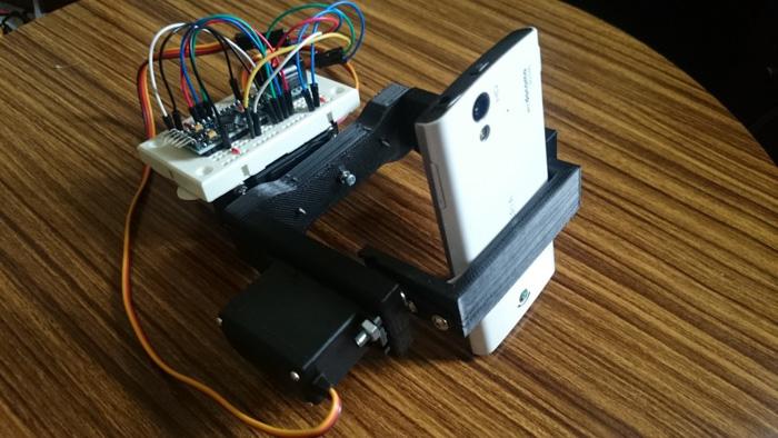 基于KXR94-2050以及Arduino開發板設計一個伺服相機云臺電路方案